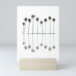 Palm Reflections II Mini Art Print