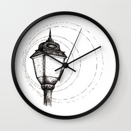 Streetlamp Wall Clock