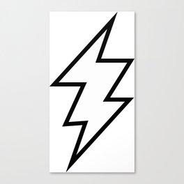 Zeus Lightning Bolt Canvas Print