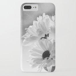 Daisy (B&W) iPhone Case