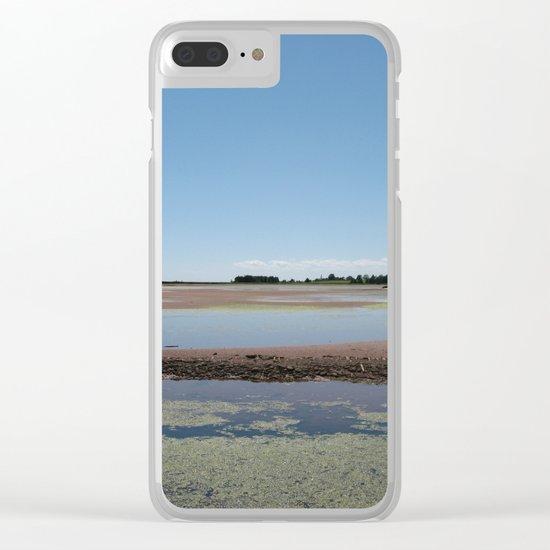 Landscape   Seascape   P.E.I. Shoreline   Canada Clear iPhone Case