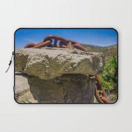 Chain Across Rock Laptop Sleeve