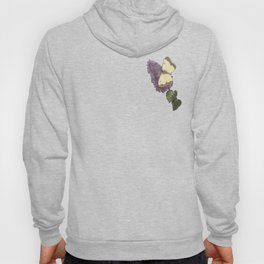 spring flowers with butterfly and beetles II Hoody