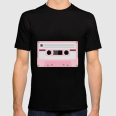 #52 Cassette Tape Mens Fitted Tee Black X-LARGE