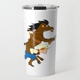 Horsey Ride Travel Mug