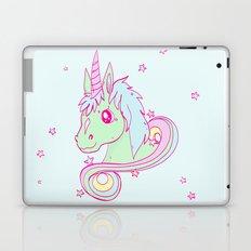 Pastel unicorn Laptop & iPad Skin