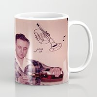 whiskey Mugs featuring Whiskey Guy by 3 monsters