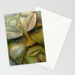 The Green Man (Stones & Leaves) Stationery Cards