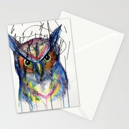 The Great Owl Stationery Cards