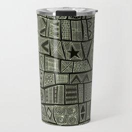 ESHE charcoal mono Travel Mug