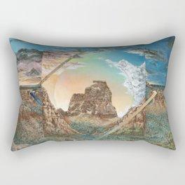 Colorado National Monument Polyscape Rectangular Pillow