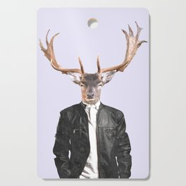 Fashionable Deer Illustration Cutting Board