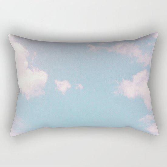 Every Cloud Has a Pink Lining Rectangular Pillow