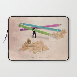 The pencil sharpener Laptop Sleeve