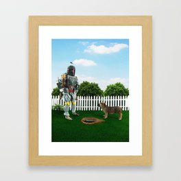 So, there it is! Framed Art Print