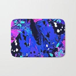 Abstract butterfly #2 Summer Bath Mat