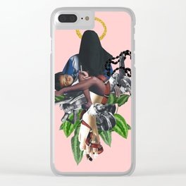Benediction Clear iPhone Case