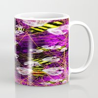 bees Mugs featuring Bees by Marven RELOADED