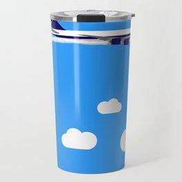 Retro jet Travel Mug