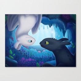 """How To Train Your Dragon (Hidden World) Fan-art """"Hidden Beauty"""" Canvas Print"""