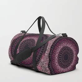 Rosewater Tapestry Mandala Duffle Bag