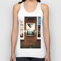 movie posters Tank Tops featuring Amsterdam Posters by Cristhian Arias-Romero