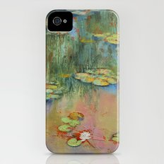 Water Lily Slim Case iPhone (4, 4s)