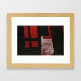 The Cross of Materials Framed Art Print
