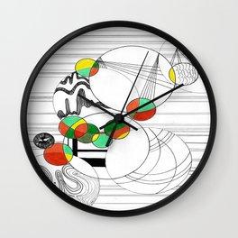 Perplexed Wall Clock
