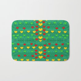 love is in all of us to give and show Bath Mat