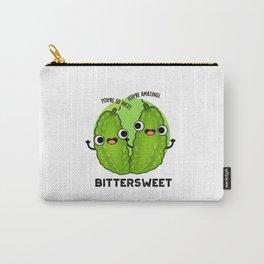 Bittersweet Cute Veggie Gourd Pun Carry-All Pouch