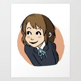 Yui Art Print