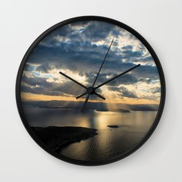 View to Behold Wall Clock