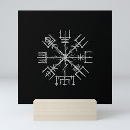 Vegvisir II Mini Art Print
