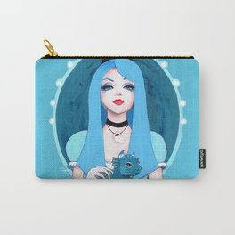Alice Wore Blue Carry-All Pouch