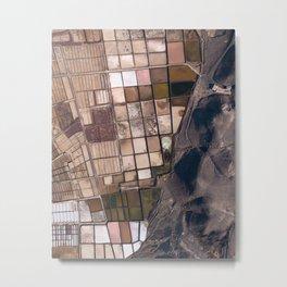 Salinas of Lanzarote Metal Print