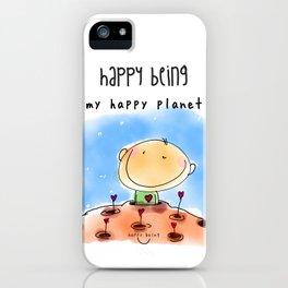 My Happy Planet iPhone Case
