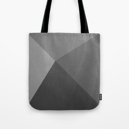 Pyramid - Black and White Tote Bag