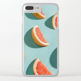 Grapefruit Clear iPhone Case