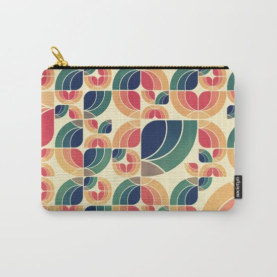 Vintage Garden Pattern v.3 Carry-All Pouch