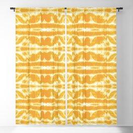 Yellow Tie Dye Twos Blackout Curtain