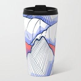 The Ice White Rocks Metal Travel Mug