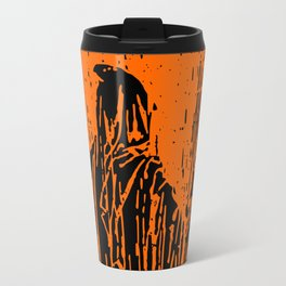 The Ghost at the Door Travel Mug