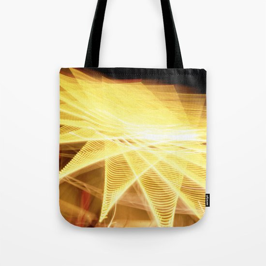 Filament Star Tote Bag