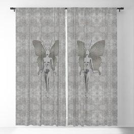 Silver Leaf Fairy Blackout Curtain