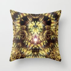 DMT Shaman Visions Throw Pillow