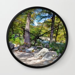 Gruene, Texas Wall Clock