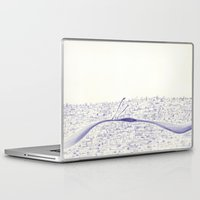 angels Laptop & iPad Skins featuring Angels by Óscar S. Cesteros