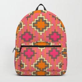 tangerine kilim Backpack