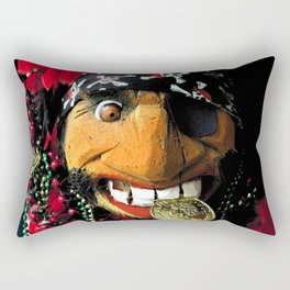 Pirate of Gasparilla Rectangular Pillow